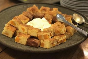 バターナッツかぼちゃのベイクケーキ グリークヨーグルト添え.jpg