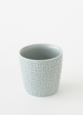 PATTERNED CUP Squall Gray(パターンドカップ スコールグレイ)